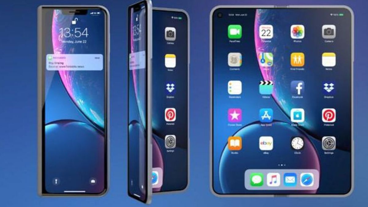 What Apple's First Foldable Iphone Will Be Like,Do You Like It?