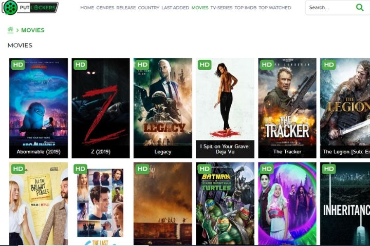 Putlockers | Putlocker Alternatives | Watch Free Movies Online [2020]