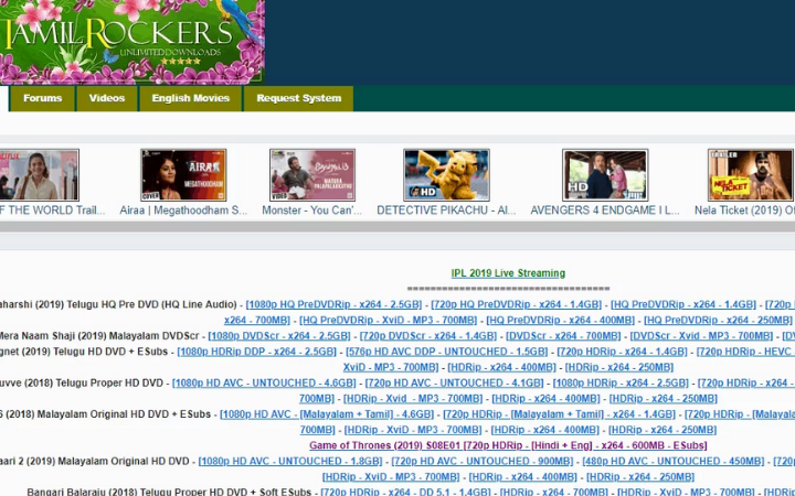 TamilRockers|TamilRockers Proxy & Mirror Sites To Use In 2021