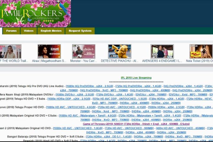 TamilRockers|TamilRockers Proxy & Mirror Sites To Use In 2021