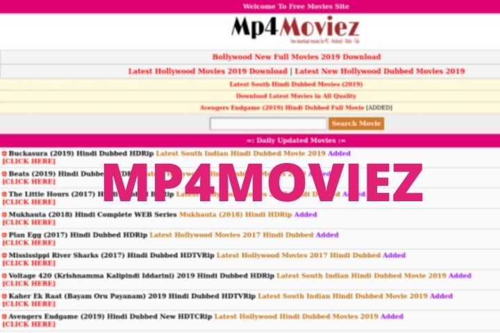Mp4moviez: Watch Latest Full HD Quality Movies Online For Free