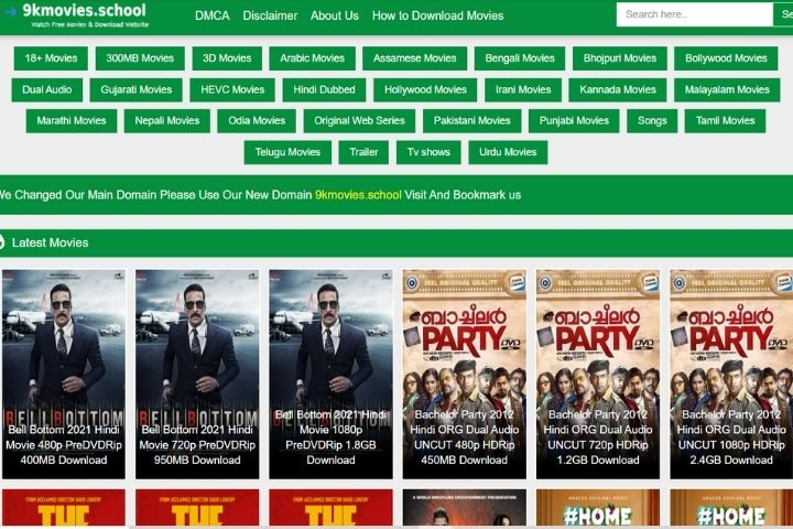 9kmovies: Download Latest Hollywood And Bollywood Movies Online For Free